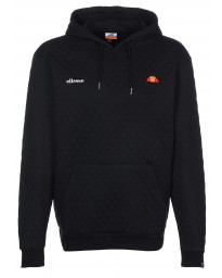 Ellesse Men's Donnino Quilted Overhead Hoodie Anthracite | Jean Scene