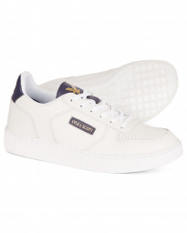 Lyle & Scott Men's McMahon Casual Trainers Trainers White/Dark Navy | Jean Scene
