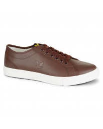 Lyle & Scott Men's Teviot Leather Low Shoes Shoes Brown | Jean Scene