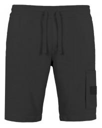 Jack & Jones Core Gosso Jogger Shorts Black Melange | Jean Scene