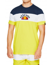 Ellesse Logo T-Shirt Short Sleeve Yellow | Jean Scene