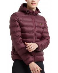 Lyle & Scott Men's Casual Jacket Burgundy | Jean Scene