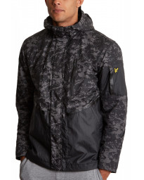 Lyle & Scott Men's Casual Jacket True Black Print | Jean Scene