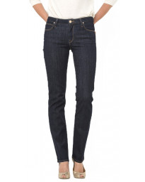 Lee Marion Women's Straight Stretch Jeans One Wash | Jean Scene