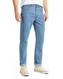 Lee Brooklyn Stretch Denim Jeans Light Stonewash | Jean Scene