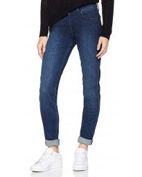 Lee Scarlett Women's Skinny Stretch Jeans Dark Used | Jean Scene
