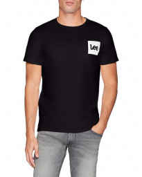 Lee Retro Logo Men's T-Shirt Black | Jean Scene