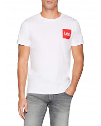 Lee Retro Logo Men's T-Shirt White | Jean Scene