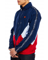 Ellesse Men's Lapaccio Shell Zip Up Track Top Navy | Jean Scene