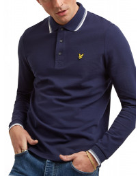 Lyle & Scott Polo Shirt Navy/White | Jean Scene