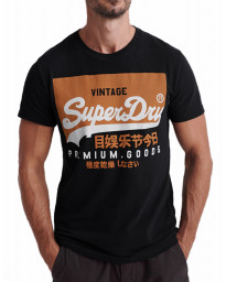 Superdry Vintage Authentic Men's T-Shirt Black | Jean Scene