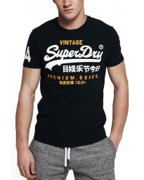 Superdry Premium Goods Duo Men's T-Shirt Nu Navy | Jean Scene