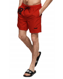 Superdry Water Polo Men's Shorts Flag Red | Jean Scene