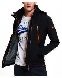 Superdry Jacket Black/Fluro | Jean Scene