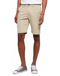 Superdry International Slim Chino Cotton Shorts Sand Dollar | Jean Scene