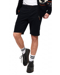 Superdry International Slim Chino Cotton Shorts Midnight | Jean Scene