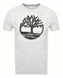 Timberland Kennebec Tree Regular T-Shirt White | Jean Scene