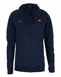 Ellesse Men's Averello Logo FZ Zip Up Hoodie Navy | Jean Scene