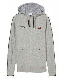Ellesse Men's Averello Logo FZ Zip Up Hoodie Grey Marl | Jean Scene