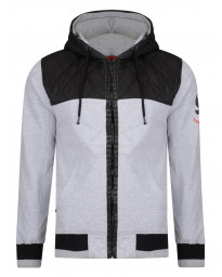 Ringspun Zip Up Men's Harvington Hoodie Grey | Jean Scene