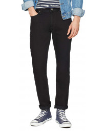 Jack & Jones Tim Original Slim Denim Jeans Black | Jean Scene