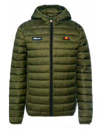 Ellesse Men's Lombardy Padded Hooded Jacket Khaki | Jean Scene