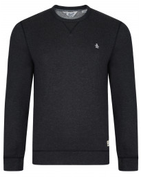 Original Penguin Men's Casual Sweatshirt Dark Charcoal Heather | Jean Scene
