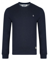 Original Penguin Men's Casual Sweatshirt Dark Sapphire Melange | Jean Scene