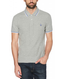Original Penguin Polo Pique Shirt Rain Heather | Jean Scene