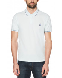 Original Penguin Polo Pique Shirt Pastel Blue | Jean Scene