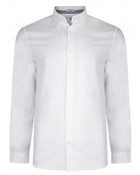 Original Penguin Oxford Shirt Long Sleeve Bright White | Jean Scene