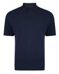 Farah Polo Pique T-Shirt Navy Blue | Jean Scene