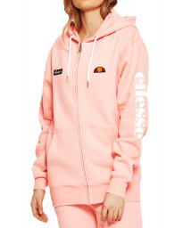 Ellesse Womens Women's Serinatas FZ Zip Up Hoodie Light Pink | Jean Scene