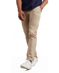 Lyle & Scott Skinny Fit Cotton Chinos Stone | Jean Scene