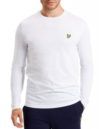4ca14c8b8c Lyle   Scott Crew Neck Long Sleeve T-Shirt White