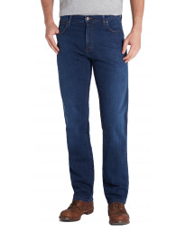 Wrangler Texas Stretch Denim Jeans Classic Blues | Men's Wrangler Jeans | Jean Scene