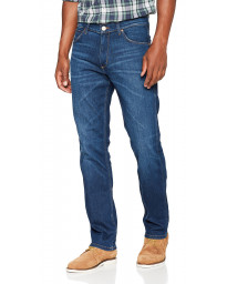 Wrangler Greensboro Modern Straight Denim Jeans For Real | Men's Wrangler Jeans | Jean Scene