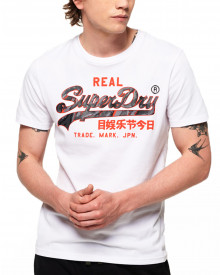Superdry Vintage Camo Logo T-Shirt Optic