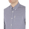 Ben Sherman Check Men's Gingham Check Shirt Blue Depths | Jean Scene