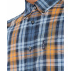 Ben Sherman Check Men's Placed Check Shirt Mustard | Jean Scene