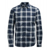 Jack & Jones Sope Check Shirt Long Sleeve Navy Blazer Blue | Jean Scene
