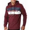 Jack & Jones Overhead Men's Block Hoodie Port Royale | Jean Scene