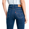 Levis 724 Women's High Rise Straight Stretch Jeans Carbon Dust T2 | Jean Scene