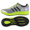 adidas Duramo Running Trainers Grey Green Sneakers