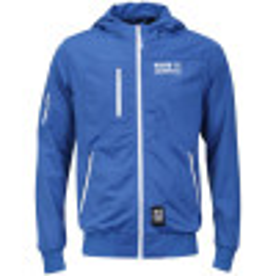 Crosshatch Tricot Track Jacket Blue Image