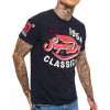 Superdry Famous Flyers Men's T-Shirt Frontier Navy | Jean Scene