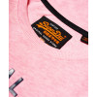 Superdry Vintage Authentic Men's T-Shirt Pastel Pink Marl | Jean Scene