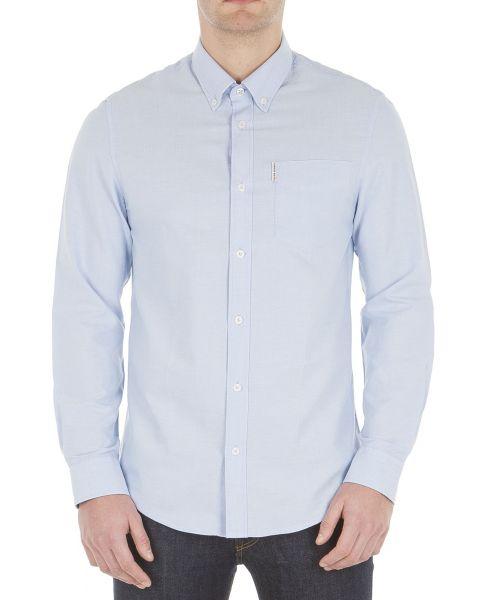 Ben Sherman Casual Men's Oxford Shirt Blue Shadow | Jean Scene