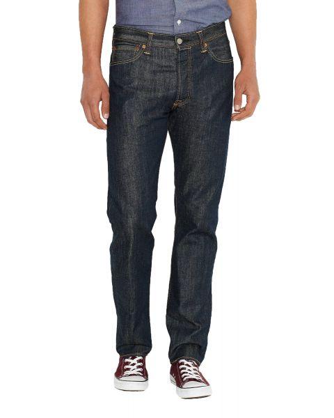 Levis 501 Denim Jeans Dark Blue Marlon Blue | Jean Scene