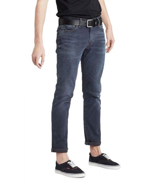 Levis 511 Denim Jeans Dark Blue Ivy Adv | Jean Scene